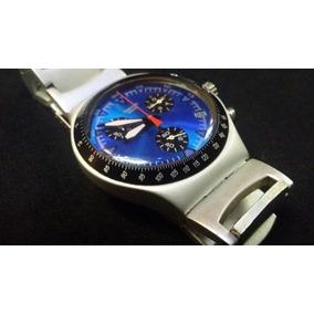 aed3c6baccf Relógio Swatch Irony Aluminium Masculino 46mm - Relógios no Mercado ...