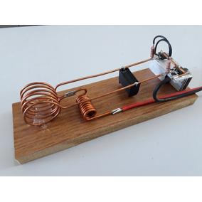 Kit Experimento Escolar Física Aquecedor Indutivo 12v Video