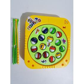 Brinquedo Infantil Pescaria Pega Peixe Pesca Game Som