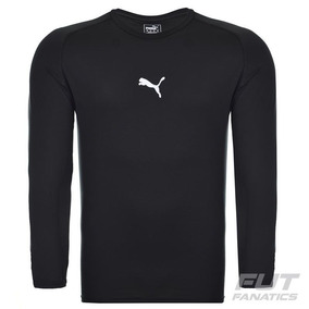 Camisa Térmica Camiseta Proteção Solar Puma Longa Futebol M e7eb4504747a9