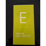 Samsung Galaxy E7 - Nf - Tela Amoled Hd Trincada- 16gb