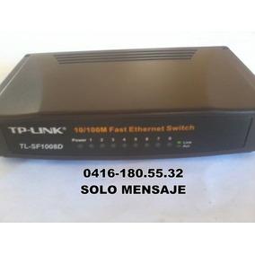 Switch Tp- Link Tl-sf1008d Nuevo 8 Puertos