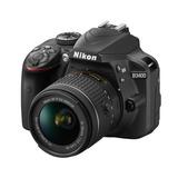 Camara Digital Nikon D3400 + 18-55mm ,1 Año Garantía Oficial