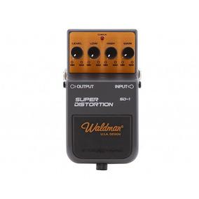 Pedal Waldman Guitarra Super Distortion Sd1 Cinza E Amarelo