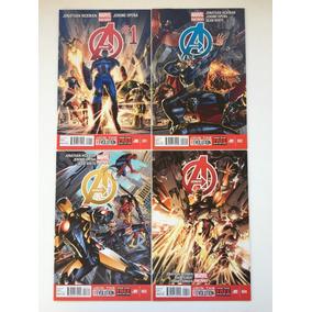40 Comics Lote Marvel Avengers - Importados Em Inglês