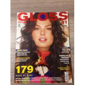 Revista Gloss Nº41 Isis Valverde James Franco Natalie Portma