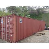 Container Em Ótimo Estado 40 Pés - 12 Metros