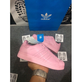 reputable site 92d6e d643a Zapatillas adidas Superstar Pink En Stock 36,37 Sin Caja