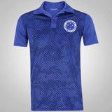 Camisa Polo Do Cruzeiro Camuflada - Masculina - Cor Azul df946897486c8