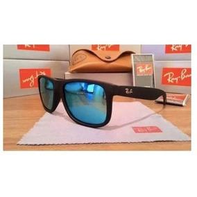 8733676be95bc Oculo Masculino Espelhado Azul - Óculos De Sol no Mercado Livre Brasil