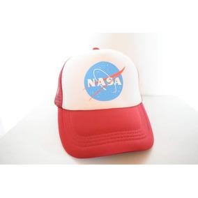 Gorra Logo Nasa Astronomia Roja f52960181b0