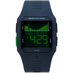 Relógio Rip Curl Rifles Tide Black Green A11194023
