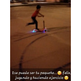 Patin O Scooter Con Luces