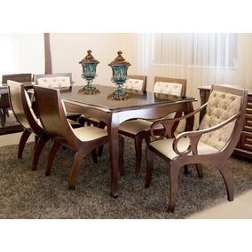 Mesa De Jantar 6 Cadeiras - Sala de Jantar no Mercado Livre Brasil 8bca01bcd9245