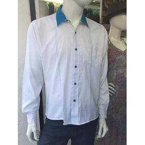 Camisa Manga Larga Corte Slim Fit De Moda Oferta De Fabrica