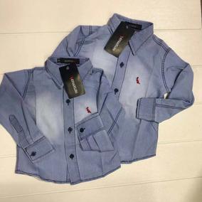 Camisa Social Bebe - Roupas de Bebê no Mercado Livre Brasil ee7b0cef13a
