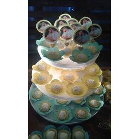 Topper Para Doces, Salgados E Cup Cakes- 100 Und