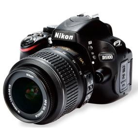 Nikon D5100 Com 5k Cliques + Lente 18-55 Mm