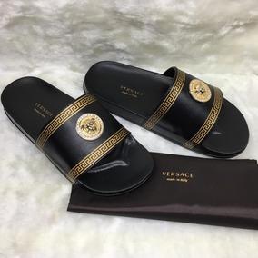 Chanclas Sandalias Gucci Versace Lv Caballero Envio Gratis