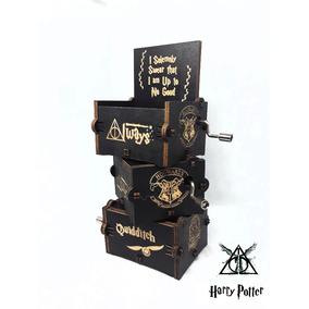 Caixinha Caixa De Musica Harry Potter Varios Modelos Escolha