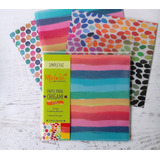 Motivo Colores Gastados - Papel Origami Malula 15 X 15 Cm
