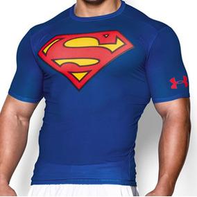 Superman Clasica Under Armour Alter Ego Playera Compresion