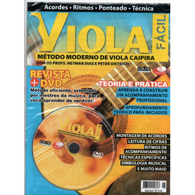 Curso Moderno De Viola Caipira - Revista+dvd