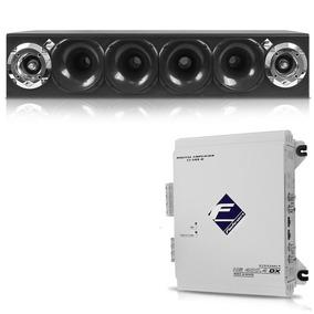 Caixa Corneteira Cxc-4x2 + Módulo Digital Hs400.4 Dx Falcon