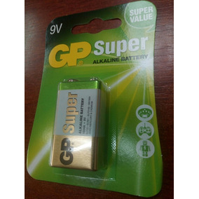 Pila 9v Gp Super Alcalina Blister De 1