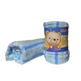 Cobertor Deluxe Celeste Baby Mink