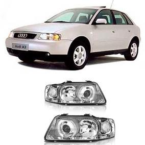 4a79d30abc Par De Farol Audi Hella - Acessórios para Veículos no Mercado Livre ...