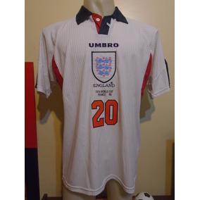 Camiseta Selección Inglaterra Mundial Francia 1998 Owen #20