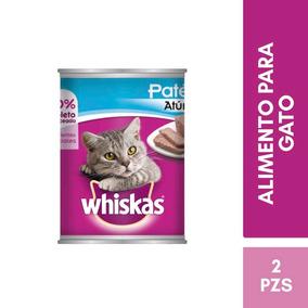 Kit Whiskas Alimento Gato Adulto En Latas Atun Humedo 350g