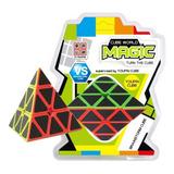 Cubo Magico Piramide 3x3 Cube World Magic Jyj006 Mundomanias