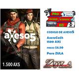 Axeso5 Ca$h Zula 1.500ax$