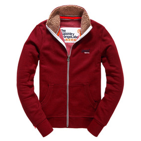 Sudadera Con Cierre Superdry Orange Label Fur Track Zip Top