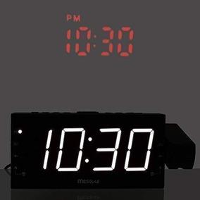 Radio Reloj Despertador Con Visualización Led De 1.8 Pulgada