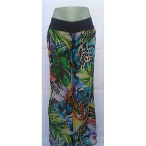 Pantalones Playeros Estampados Floreados Para Damas