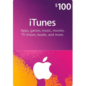 Card Cartao Pre Pago Presente Apple Itunes 100 Usd Americano