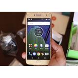 Celular Motorola Moto G5 Plus 32gb Tv Ouro Rosê 5,5 Android