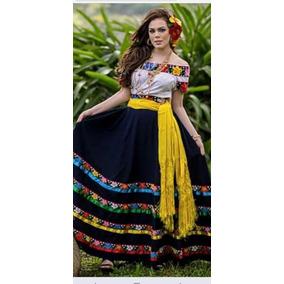 Vestido De Tabasqueña