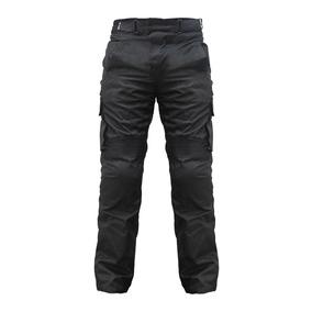 Pantalón Con Protecciones Motociclista Moto Talla M