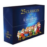 25 Clássicos Da Walt Disney - Box 28 Dvds / Filme Infantil
