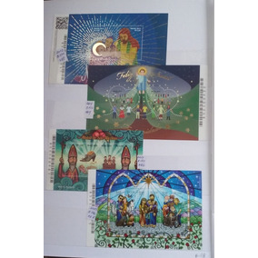Blocos Selos De Natal 2012/13/14/15