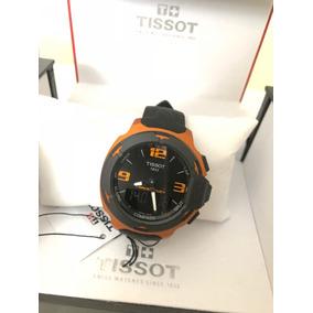 Relogio Tissot T-race Touch Aluminum T0814209705706