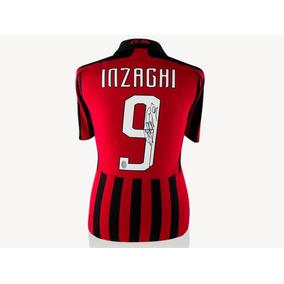 Pippo Inzaghi Playera Firmpippo Inzagada Del Milan 2007-2008