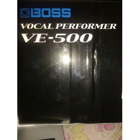 Boss Vocal Performer Ve-500