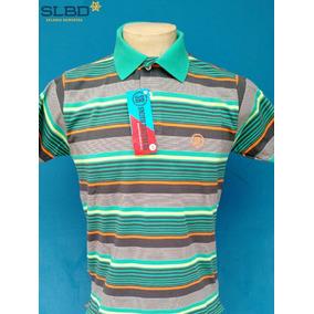 Camisa Polo Smith Brothers Listrada Ref 3523 Verde laranj pt 4a70d1862cb14