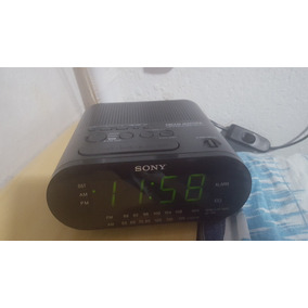 5876be120a2 Radio Relógio Sony Am fm Icf C218 Despertador Alarme - Áudio ...