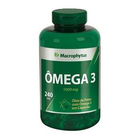 Omega 3 1000mg 240cps Macrophytus®